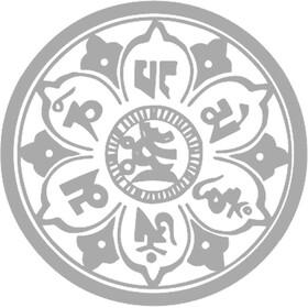 DYEDBRO Mandala Frame Protection Kit, white